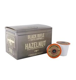 Black Rifle Coffee Co. BLACK RIFLE COFFEE CO  HAZELNUT FLAVORED COFFEE ROUNDS