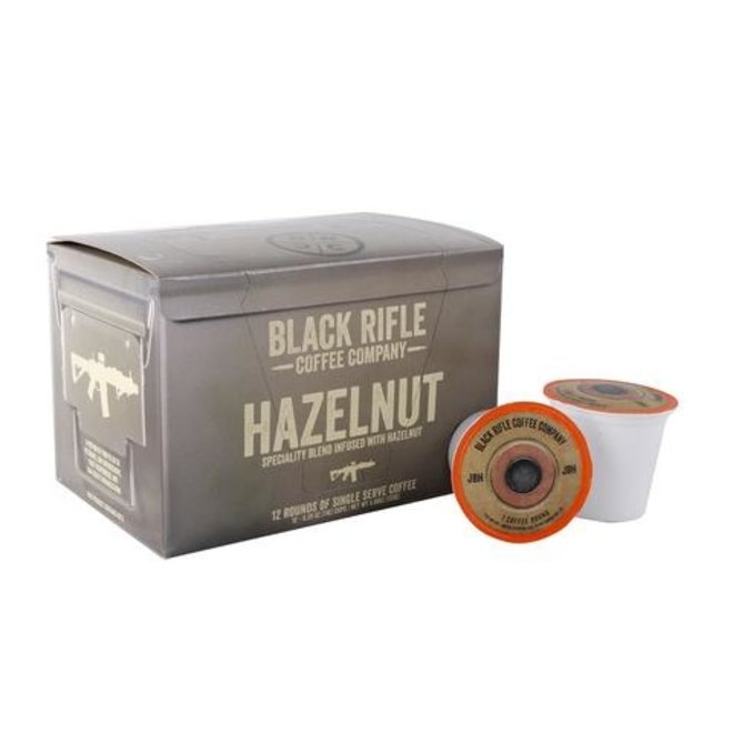 Black Rifle Coffee Co Hazelnut Flavoured Coffee Rounds