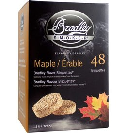 Bradley Smokers Bradley Maple Bisquettes 48 Pack