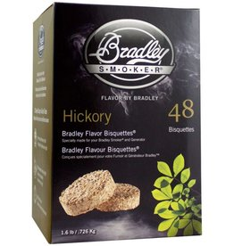 Bradley Smokers Bradley Hickory Bisquettes 48 Hickory