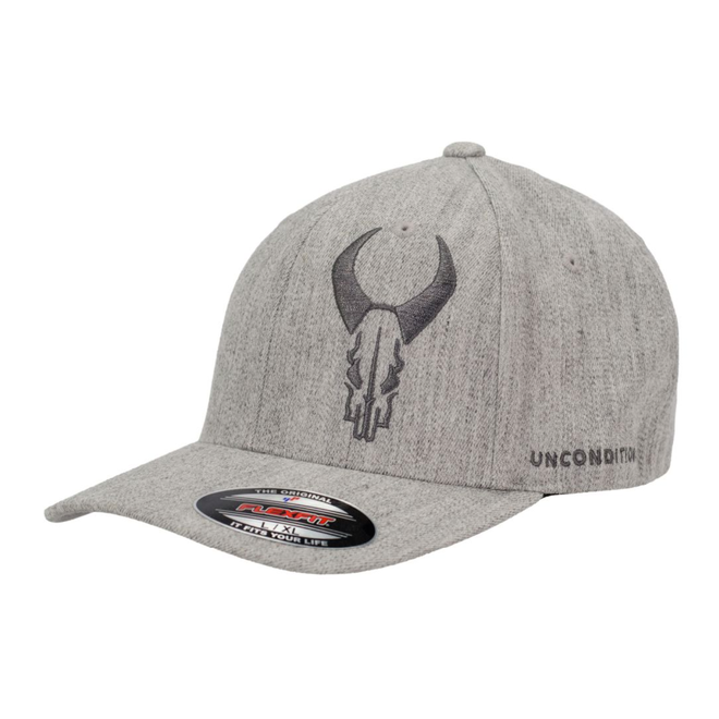 Badlands Grey on Grey Flexfit Hat