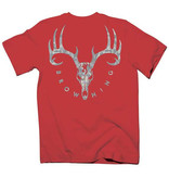 Browning Browning Youth Galvanized S/S Tee Red