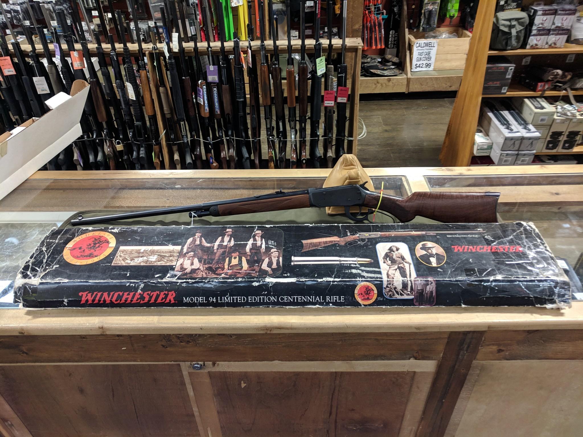 """Winchester Winchester 94 Centennial Grade 1 .30 WCF 26"""" BBL"""