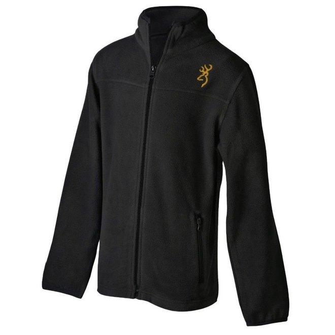 Browning Youth Full Zip Sweatshirt Black