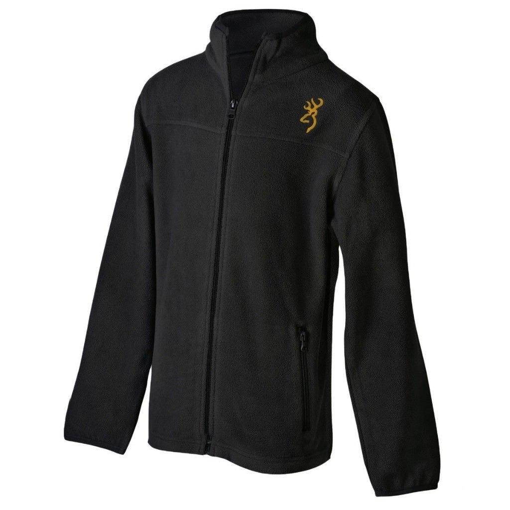 Browning Browning Youth Full Zip Sweatshirt Black