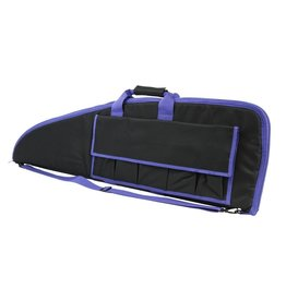 "NcSTAR VISM 40"" GUN CASE BLK W/PURPLE TRIM"