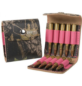 Bandera BANDERA AMMO CASE PINK CAMO/LEATHER