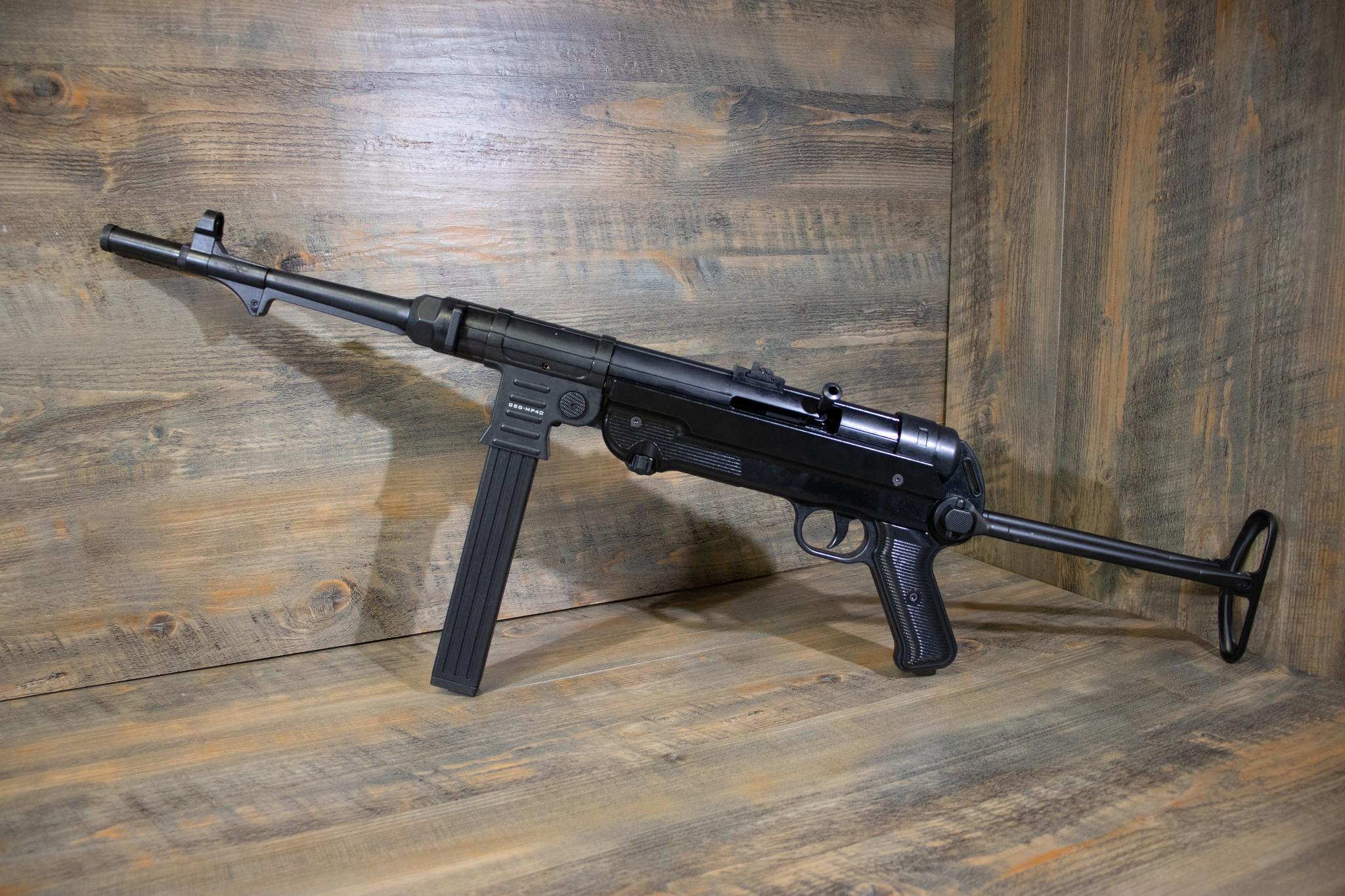 German Sports Guns GSG Schmeisser MP40 Standard Black .22 LR