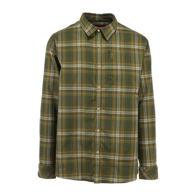 Browning Beacon Green Plaid Shirt