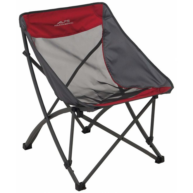 Alps Mountaineering Camber Chair Red/Grey