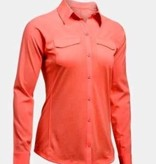 Under Armour Under Armour Fish Hunter Hybrid Long Sleeve Salmon
