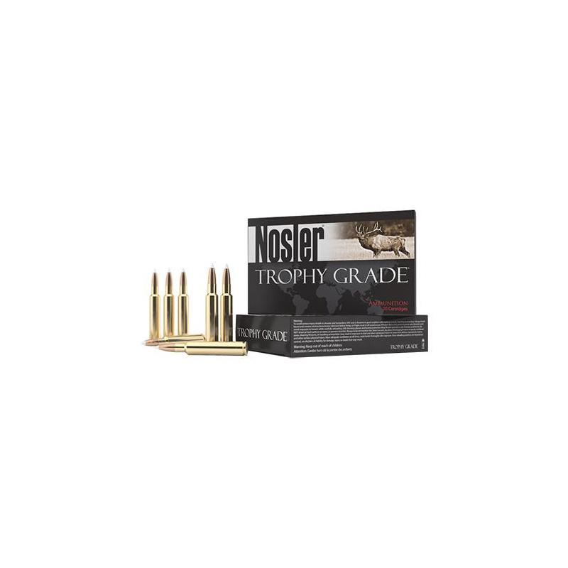 Nosler Nosler Trophy Grade Accubond LR Rifle Ammunition