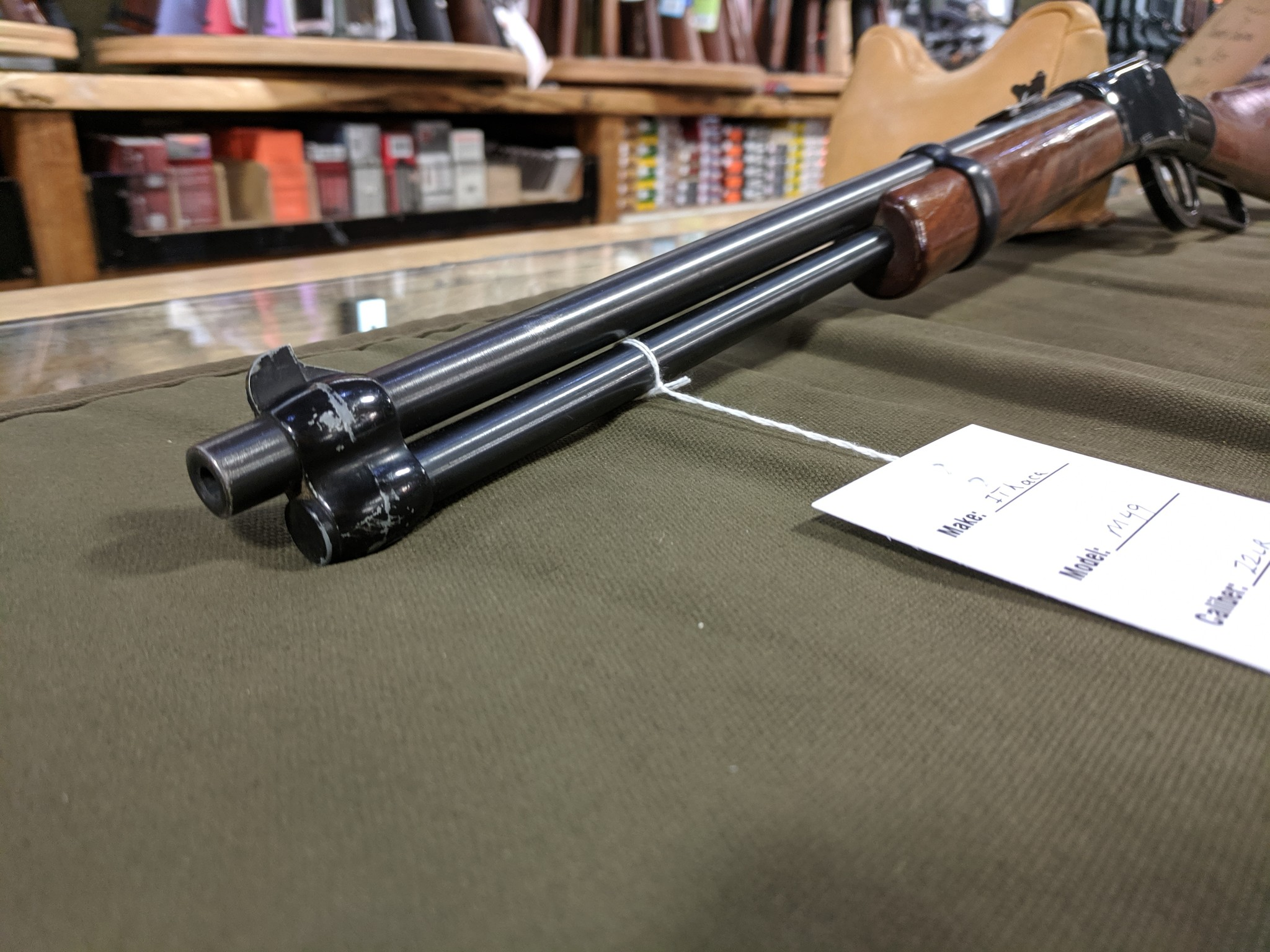 Ithaca M-49 Single Shot .22 LR G#2900