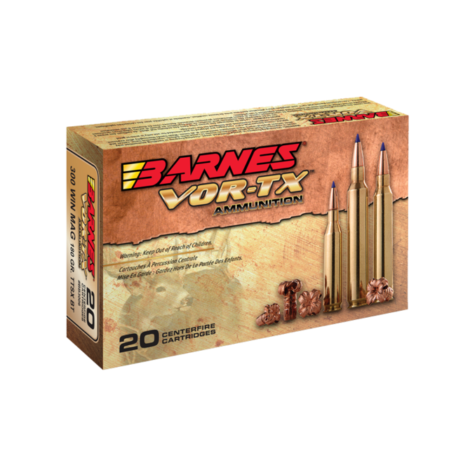 Barnes Vor-TX Rifle Ammunition