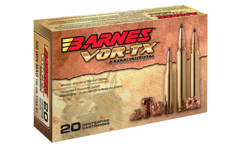 Barnes Barnes Vor-TX Rifle Ammunition