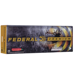 Federal Premium Trophy Copper Rifle Ammunition