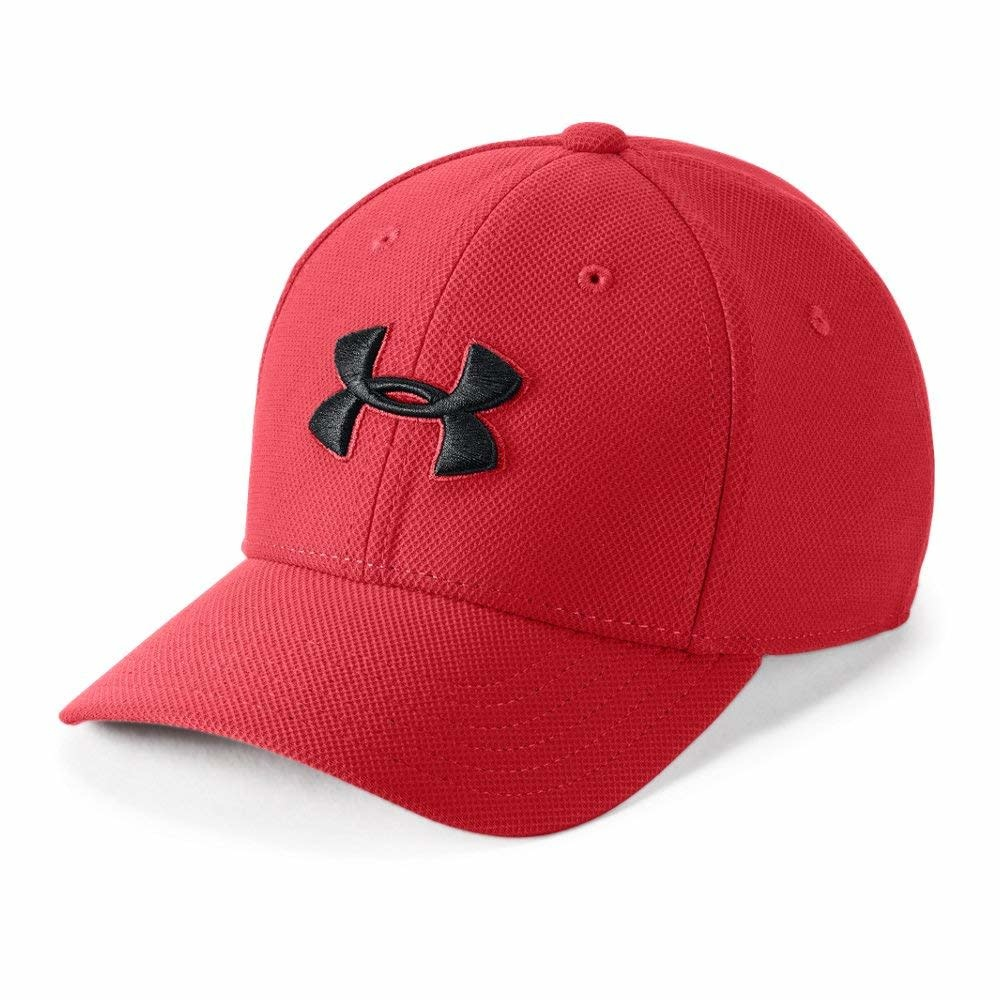Under Armour Under Armour Boy's Blitzing 3.0 Cap Black on Red
