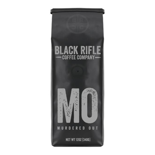 Black Rifle Coffee Co. Murdered Out Coffee Blend Ground