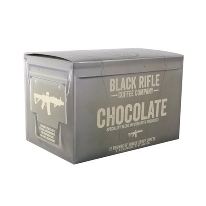 Black Rifle Chocolate Flavoured Coffee Rounds