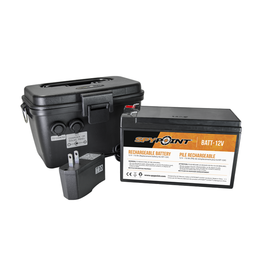 SPYPOINT SPYPOINT 12V Battery, Charger & Housing Kit