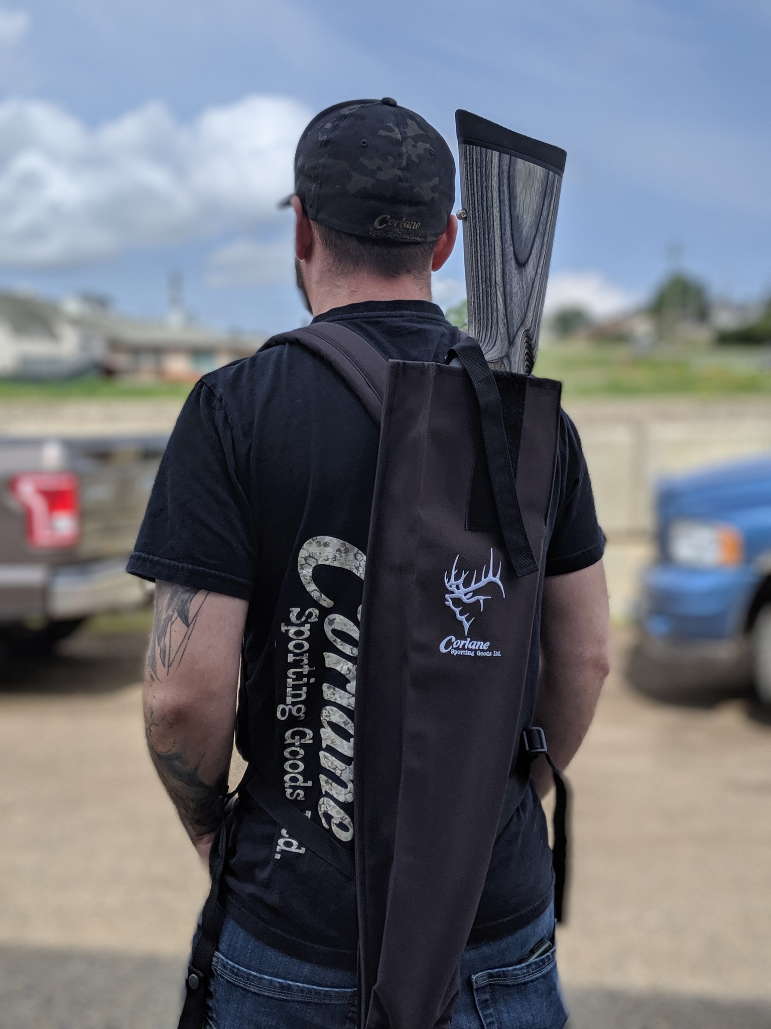 Corlane Apparel Corlane Gun Slip Case Black Cordura