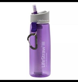 LifeStraw Bottle Purple w/ 2 Stage Filtration