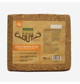 PRIMOS Primos Take Out Apple Protein Block 20lb