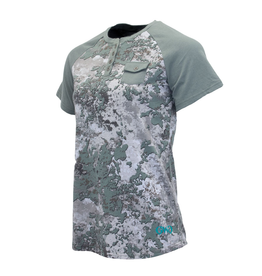 Girls With Guns Girls with Guns Apricity CVC Henley Short Sleeve Shade