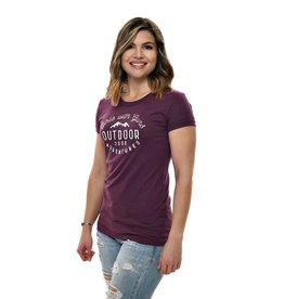 Girls With Guns Girls With Guns Adventure Baseball Tee