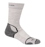 Icebreaker Merino Clothing Inc Icebreaker Womens Hike+ Lite Crew Socks Blizzard/White