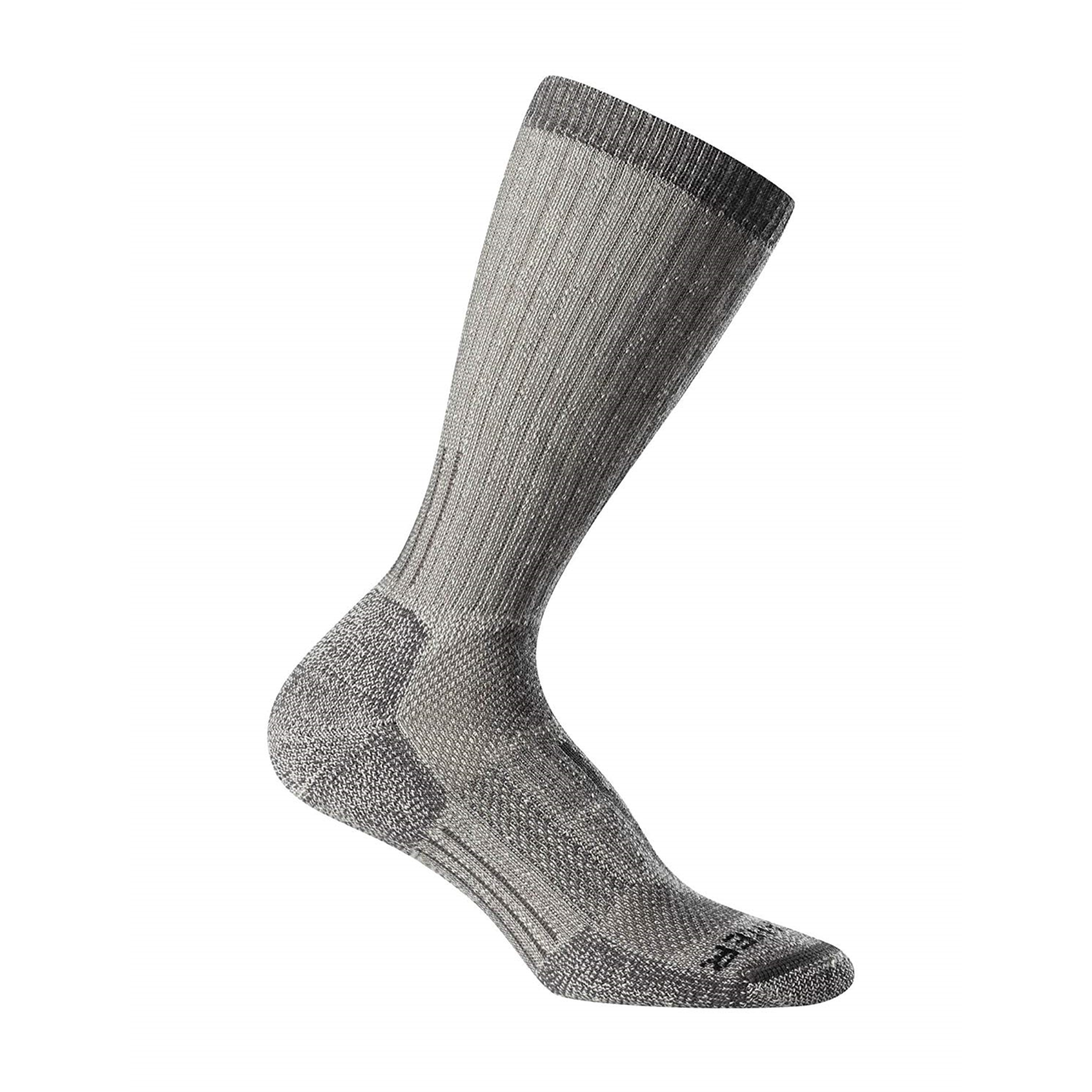 Icebreaker Merino Clothing Inc Icebreaker Mountaineer Expedition Mid Calf Womens Natural Monsoon Heather Socks