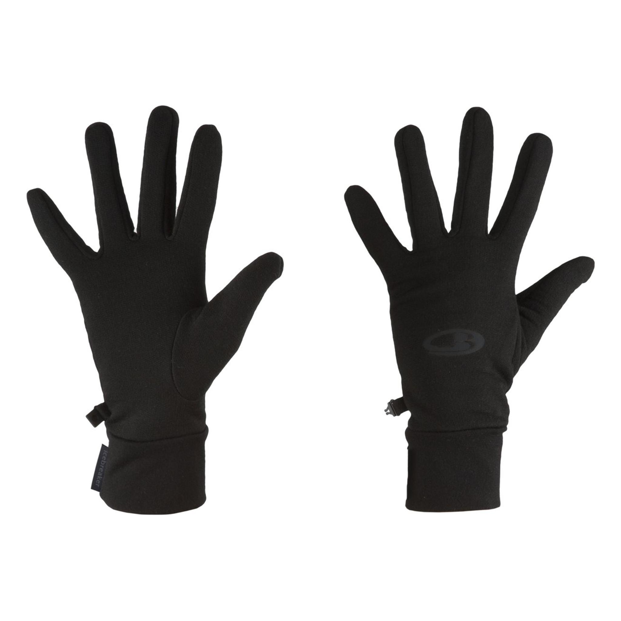 Icebreaker Merino Clothing Inc Icebreaker Sierra Mittens Black Size XS