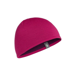 Icebreaker Merino Clothing Inc Icebreaker Pocket Hat Raspberry/Maroon One Size