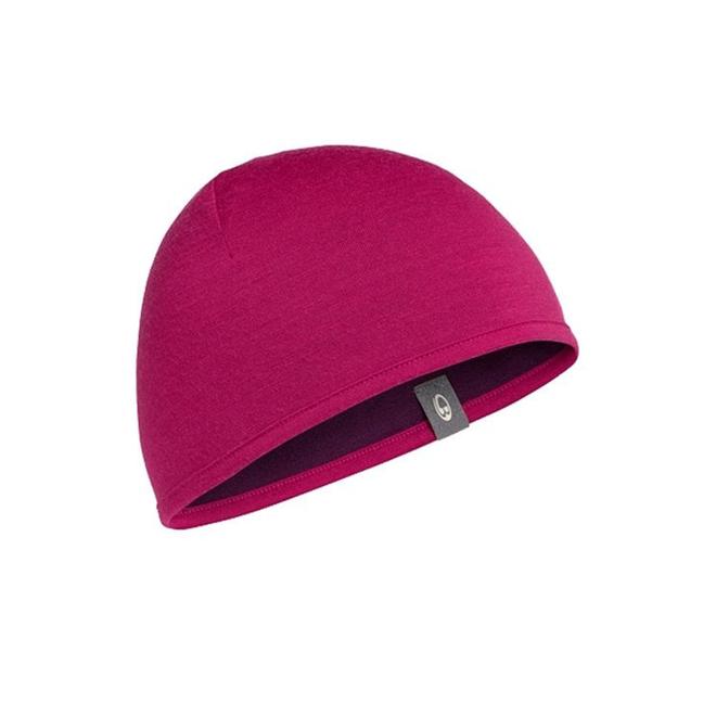Icebreaker Pocket Hat Raspberry/Maroon One Size