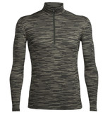 Icebreaker Merino Clothing Inc Icebreaker Mens Oasis Long Sleeve Half Zip Zig