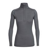 Icebreaker Merino Clothing Inc Icebreaker Women's Zeal Long Sleeve Half Zip Medium
