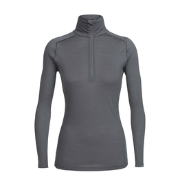 Icebreaker Merino Clothing Inc Icebreaker Women's Zeal Long Sleeve Half Zip Medium