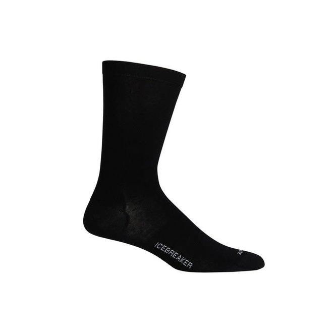 Icebreaker Men's Lifestyle Cool Lite Crew Black Socks