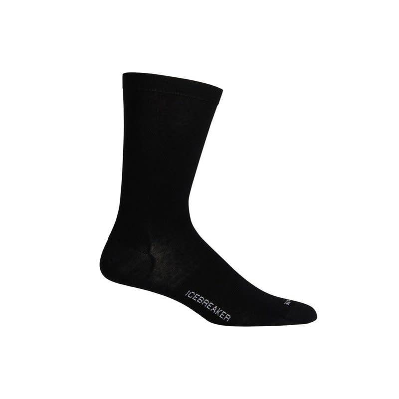 Icebreaker Merino Clothing Inc Icebreaker Men's Lifestyle Cool Lite Crew Black Socks