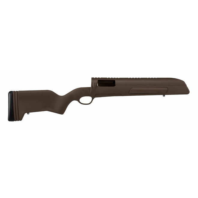 ATI Mauser 98 w/ Built-In Scope Mount & X Series Recoil Pad Woodland Brown