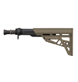 Advanced Technology International ATI AR-15 TactLite 6 Position Mil-Spec Stock w/ Military Buffer Tube Assembly Flat Dark Earth