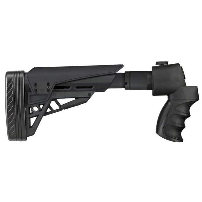 ATI Strikeforce Side-Folding Shotgun Stock w/ X2 Recoil Reducing Grip and Butt Pad