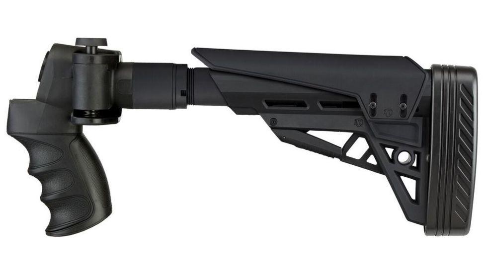 Advanced Technology International ATI Strikeforce Side-Folding Shotgun Stock w/ X2 Recoil Reducing Grip and Butt Pad