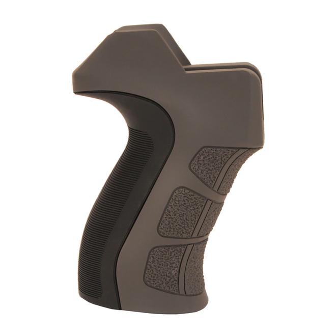 ATI AR-15 X2 Scorpion Recoil Pistol Grip w/ Gray Inlays