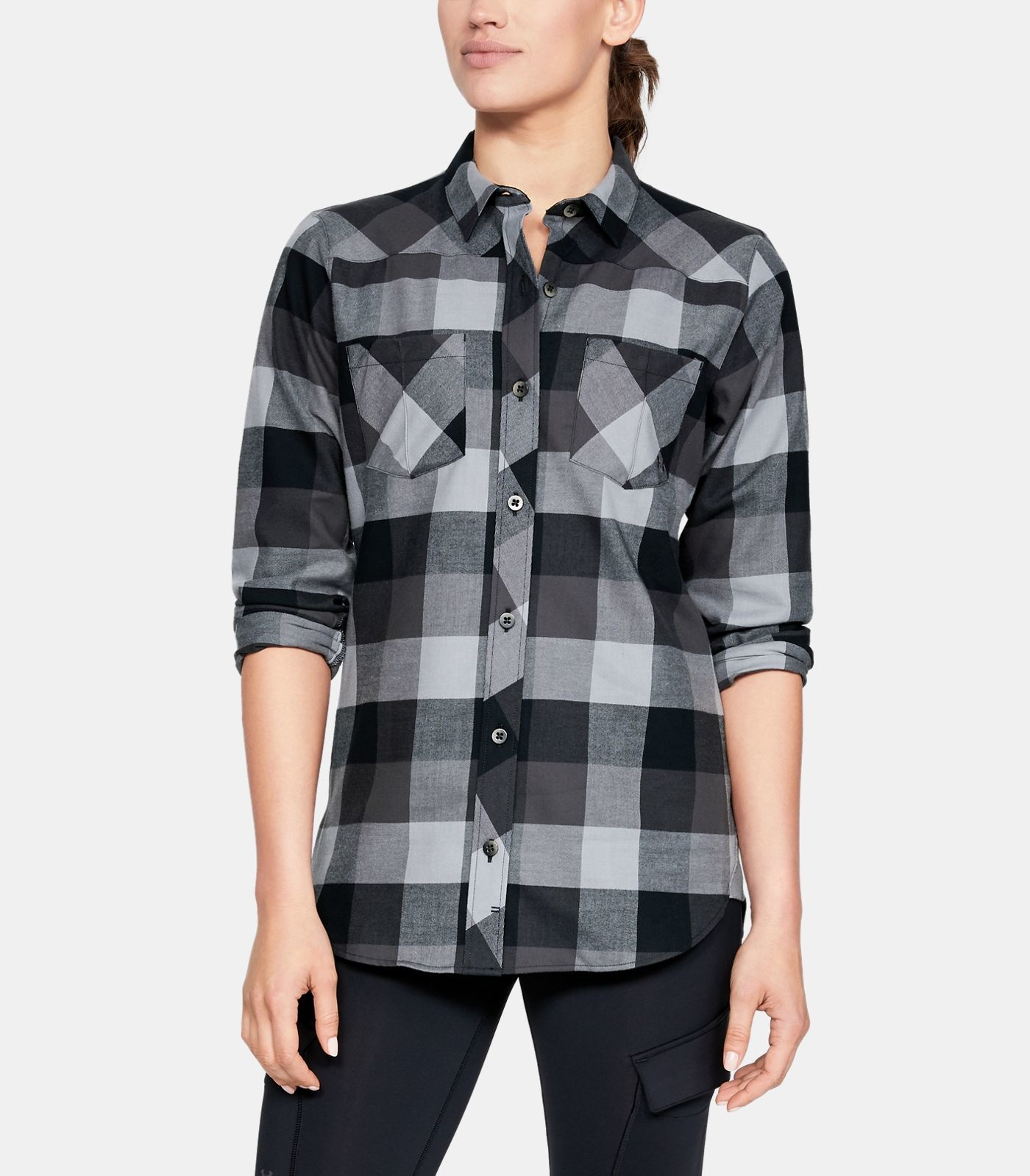 Under Armour Under Armour Tradesman Flannel 2.0 Black