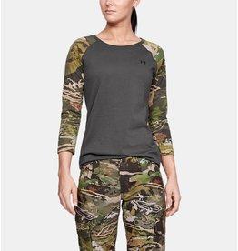 Under Armour Under Armour Womens Camo Sleeve Utility Grey