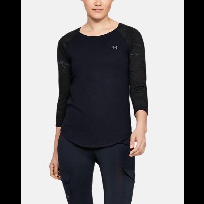 Under Armour Womens Camo Sleeve Utility Black