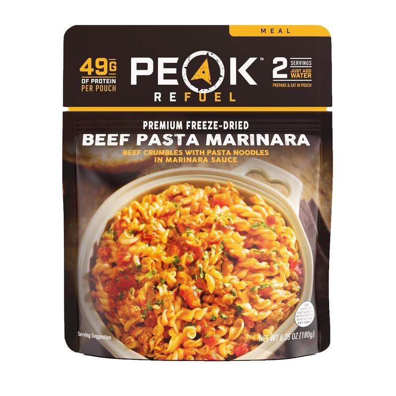 PEAK REFUEL Peak Refuel Beef Pasta Marinara