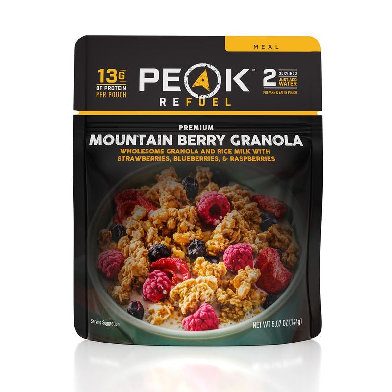 PEAK REFUEL Peak Refuel Mountain Berry Granola