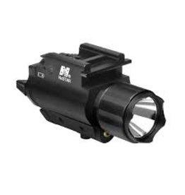 NcSTAR NcSTAR Pistol Flashlight/Green Laser w/ QR Mount